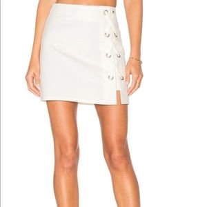 by the way. Skirts - Lace up skirt